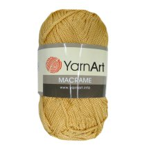 Пряжа YARN-ART Macrame / 155 золото